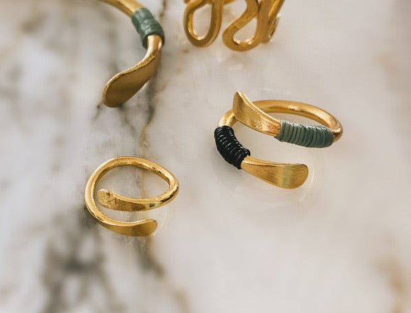 CORITA RINGS (2 pieces)
