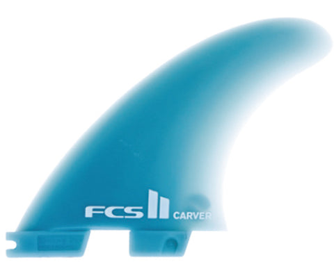 FCS II Carver quad rear fin set lmedium - Glass Flex