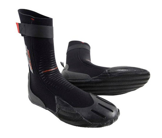 O'Neill Heat 3mm wetsuit booties - round toe