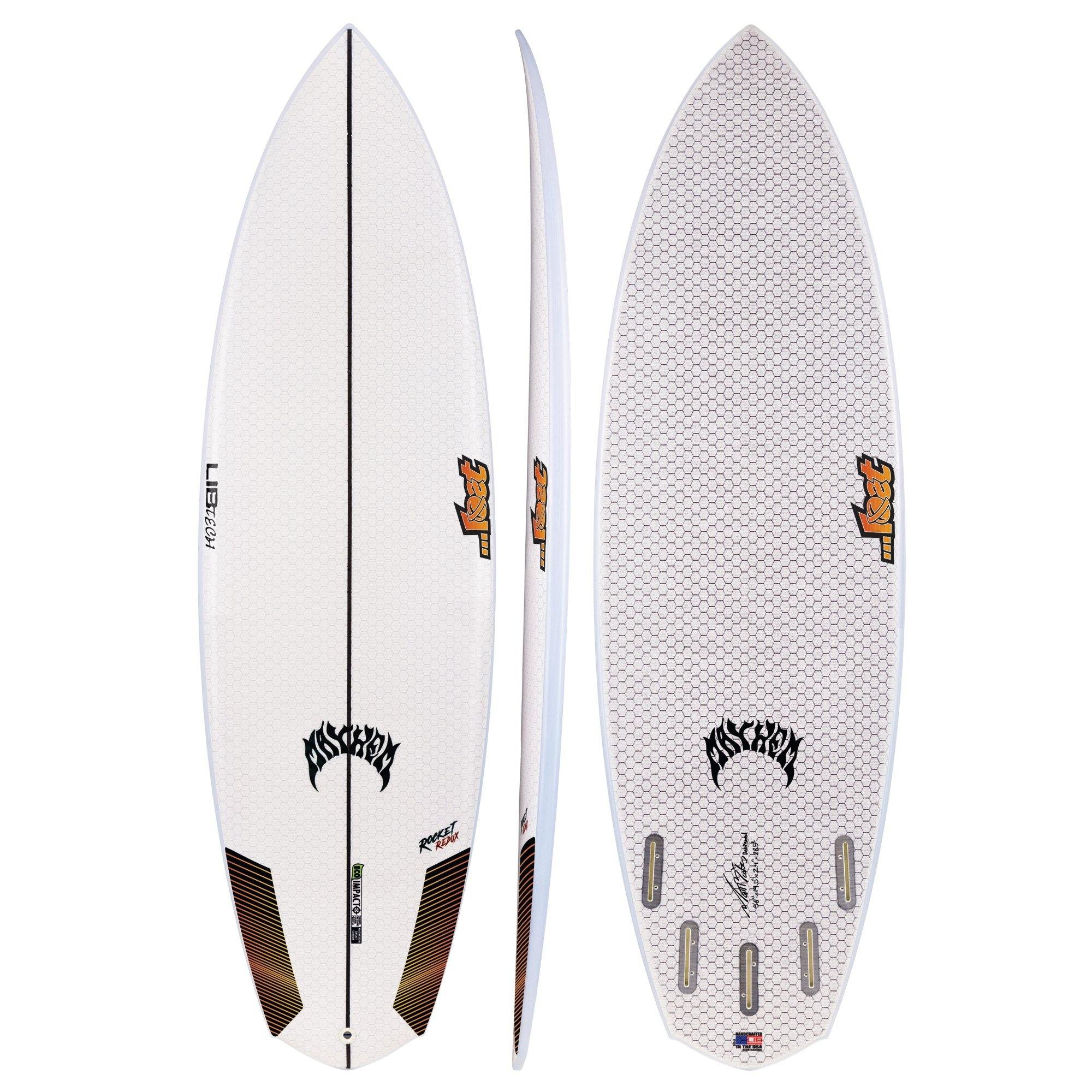 "6'2"" Lib Tech LOST Rocket Redux - Urban Surf"