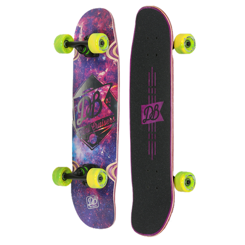 DB Longboards Mini Cruiser - Space Cruiser
