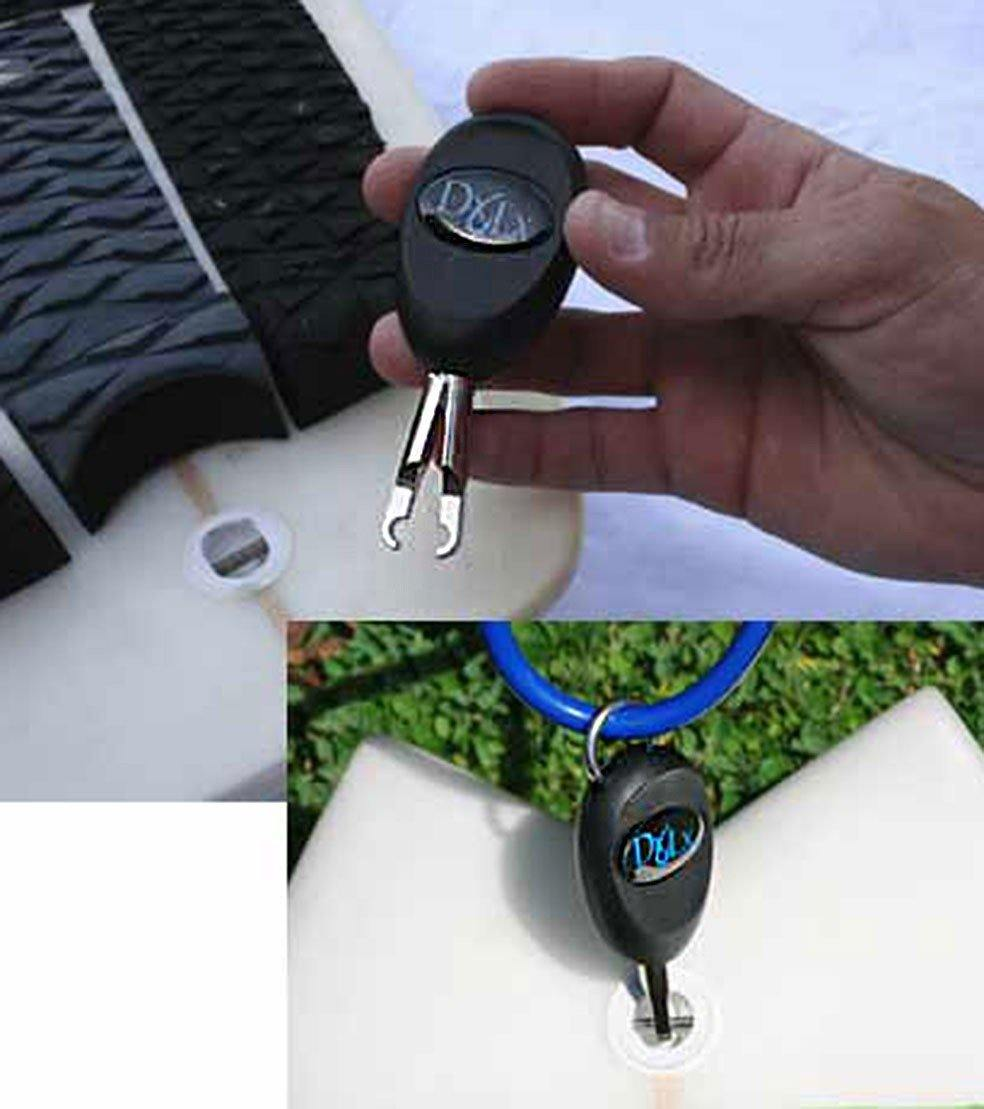 DocksLocks SUP Paddleboard and Surfboard Lock Security System - Urban Surf