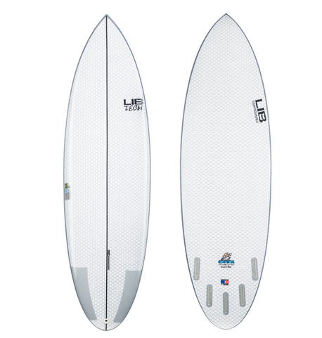 Lib Tech Nude Bowl surfboard - 5'11""