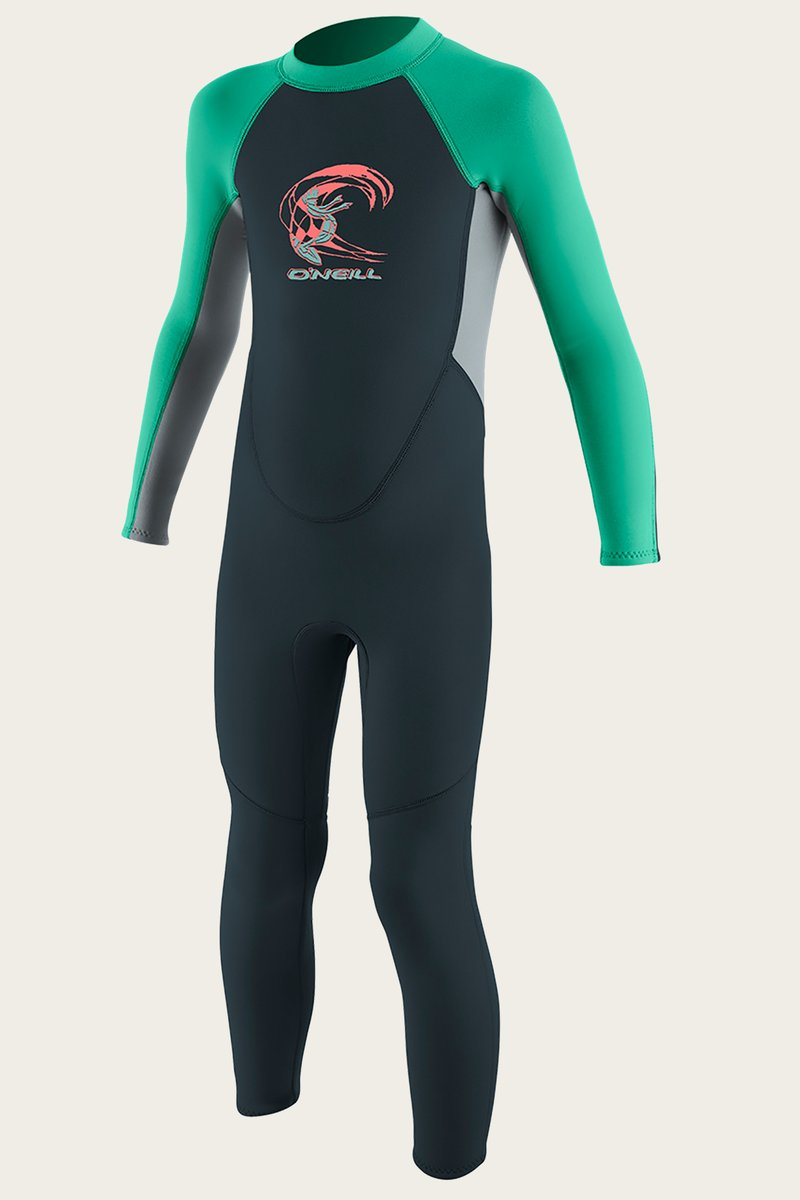 O'Neill Reactor II 2mm Toddler Full Wetsuit - Colors Vary