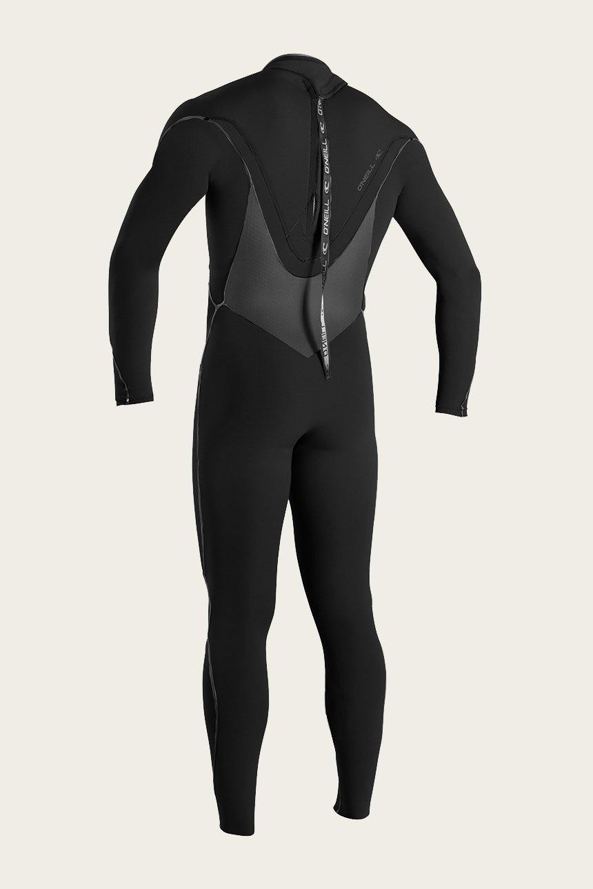 O'Neill Psycho Tech 4/3+mm Wetsuit - Back (Zen) Zip