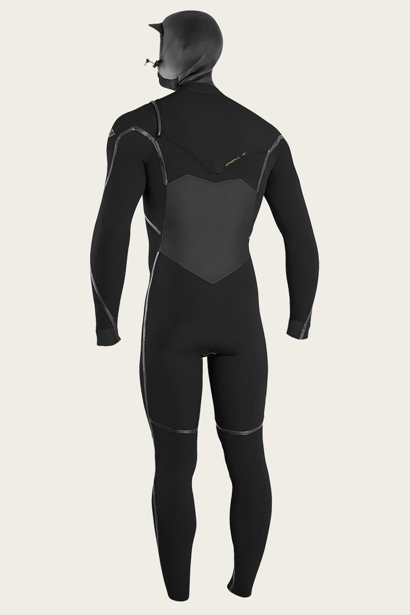 O'Neill Psycho Tech 5.5/4mm+ Hooded Wetsuit - Chest Zip