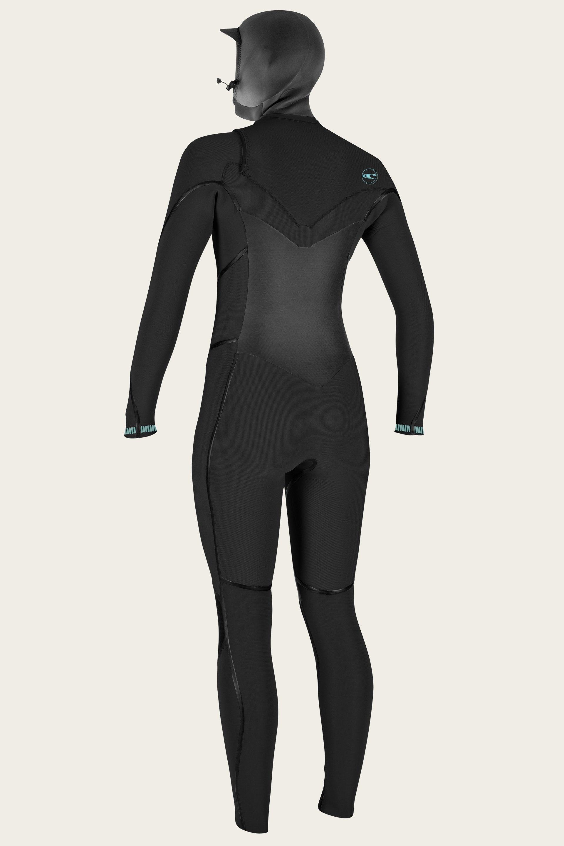 O'Neill Womens Psycho Tech 5.5/4mm+ Hooded Wetsuit - Chest Zip