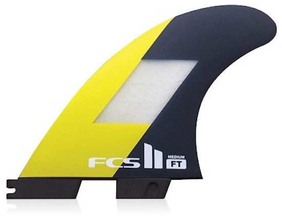 FCS II Filipe Toledo PC Tri Fin Set - Medium