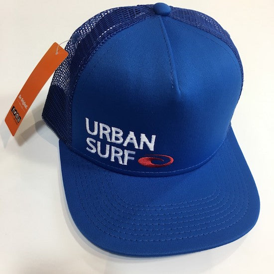 Urban Surf Trucker Hat Blue
