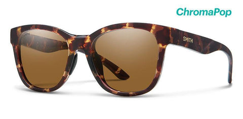 Smith Caper Matte Tortoise Polarized