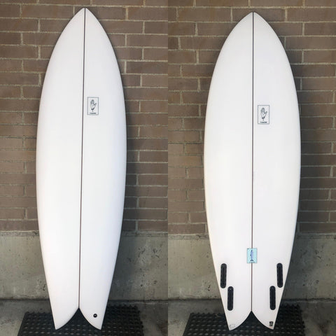 6' Teardown Surfboards Pescado