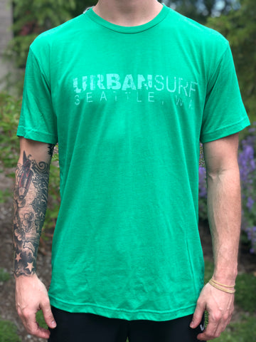 Men's Script Tee - Envy Green