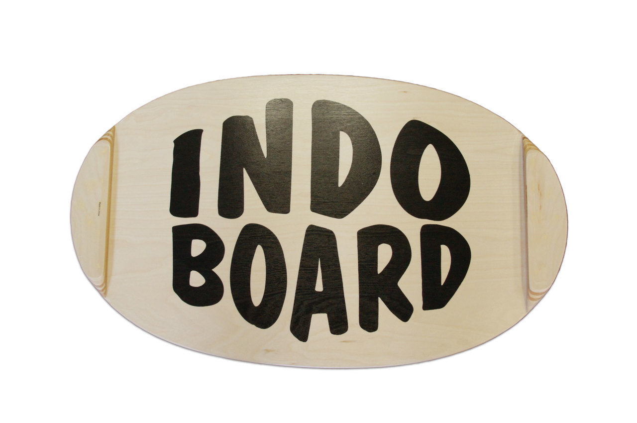 Indo Balance Board Deck and Roller - Art Deck
