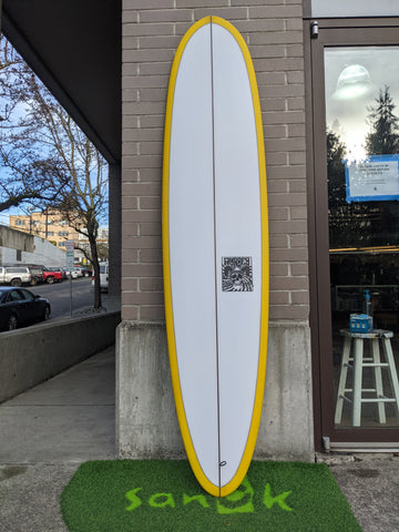 "8'0"" Mini Log - Murdey Surfboards"