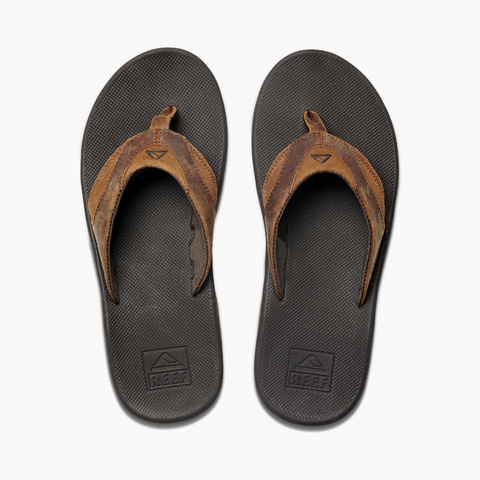 Men's Reef Leather Fanning Sandal