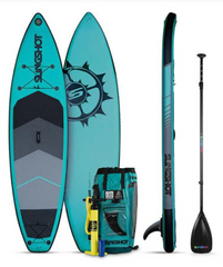 "11'0"" Slingshot Airtech Crossbreed iSUP with Paddle - Colors Vary"