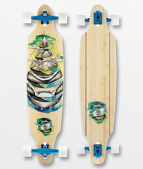 "Sector 9 Droplet Lookout 41.125"" Complete - Urban Surf"