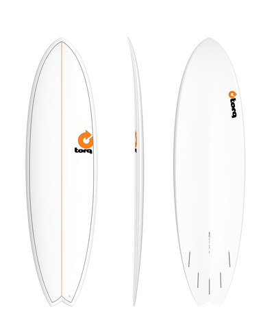 "6'10"" Torq Surfboards TET Mod Fish - Colors Vary"