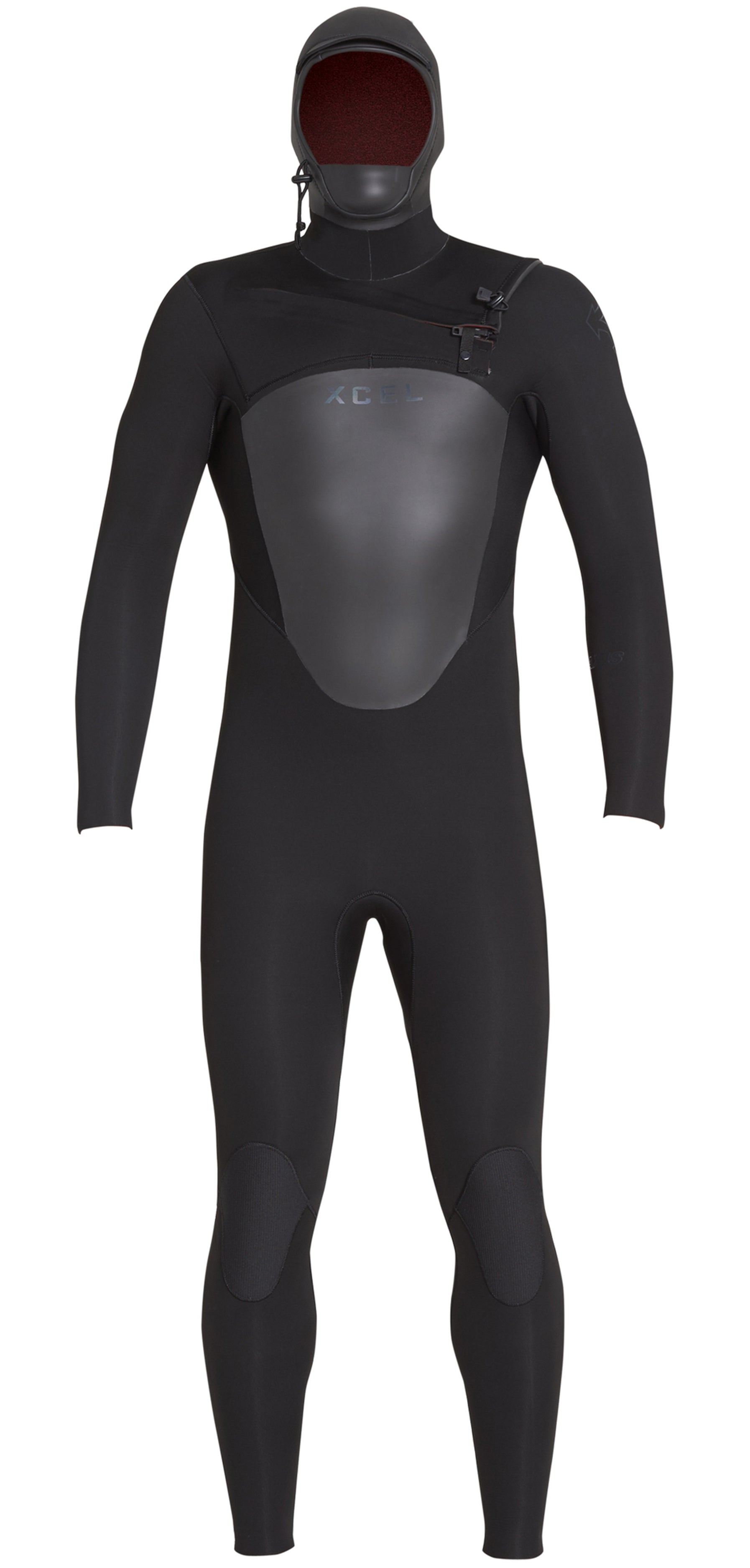 Xcel Axis X 5/4mm Hooded Wetsuit - Chest Zip