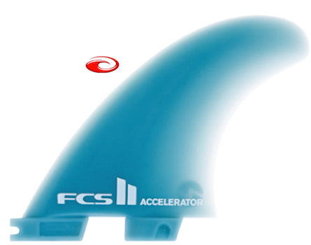 FCS II Accelerator thruster fin set medium - Glass Flex