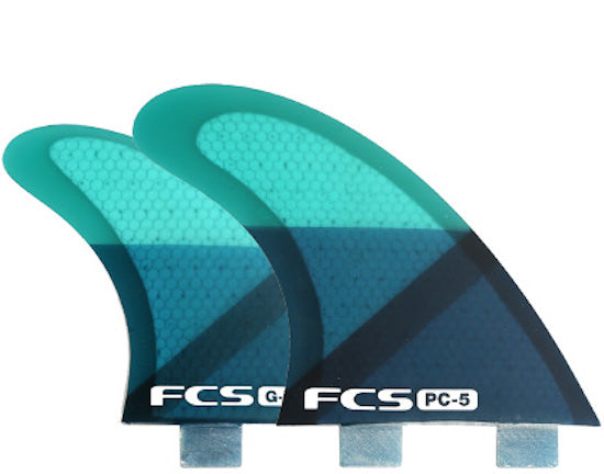FCS Q-PC-5 quad fin set