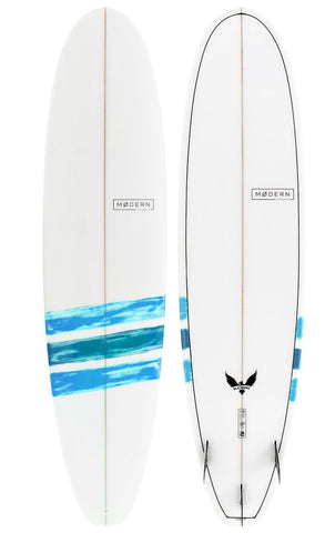 "Modern Blackbird surfboard - 7'0"" - Blue"