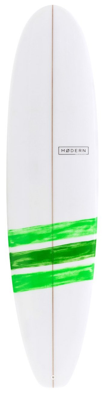 "Modern Blackbird surfboard - 7'0"" - Green"