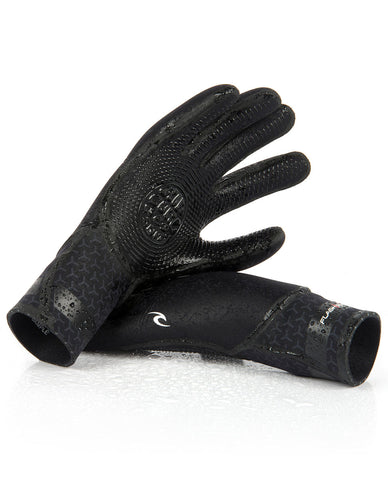 Rip Curl Flash Bomb 5 Finger Surf Gloves 3/2mm