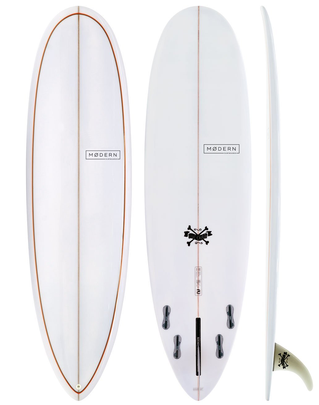 "Modern Surfboards Love Child - 8'0"" - Colors Vary"