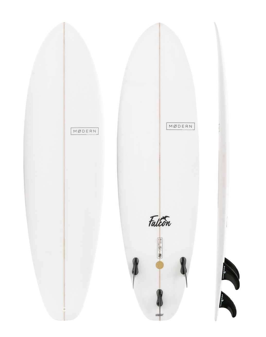 "Modern Surfboards Falcon - 8'0"" - Colors Vary"