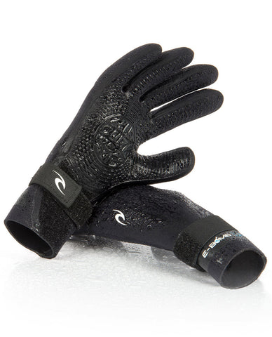 Rip Curl E Bomb Stitchless 5 Finger Surf Gloves 2mm