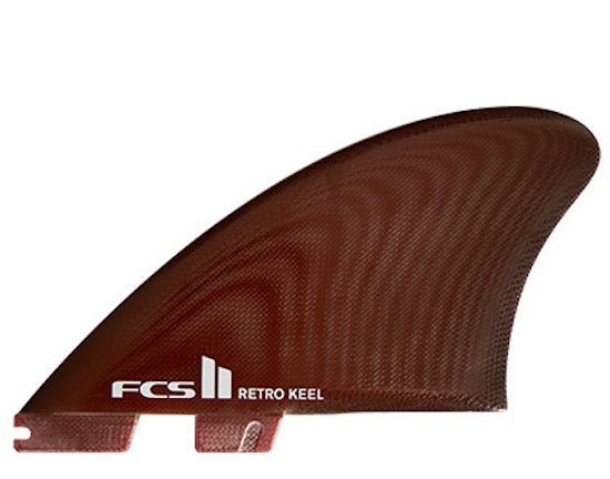 FCS II Retro Keel Twin Fin Set