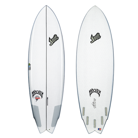 "Lib Tech Round Nose Fish Redux surfboard - 5'10"" - B GRADE"
