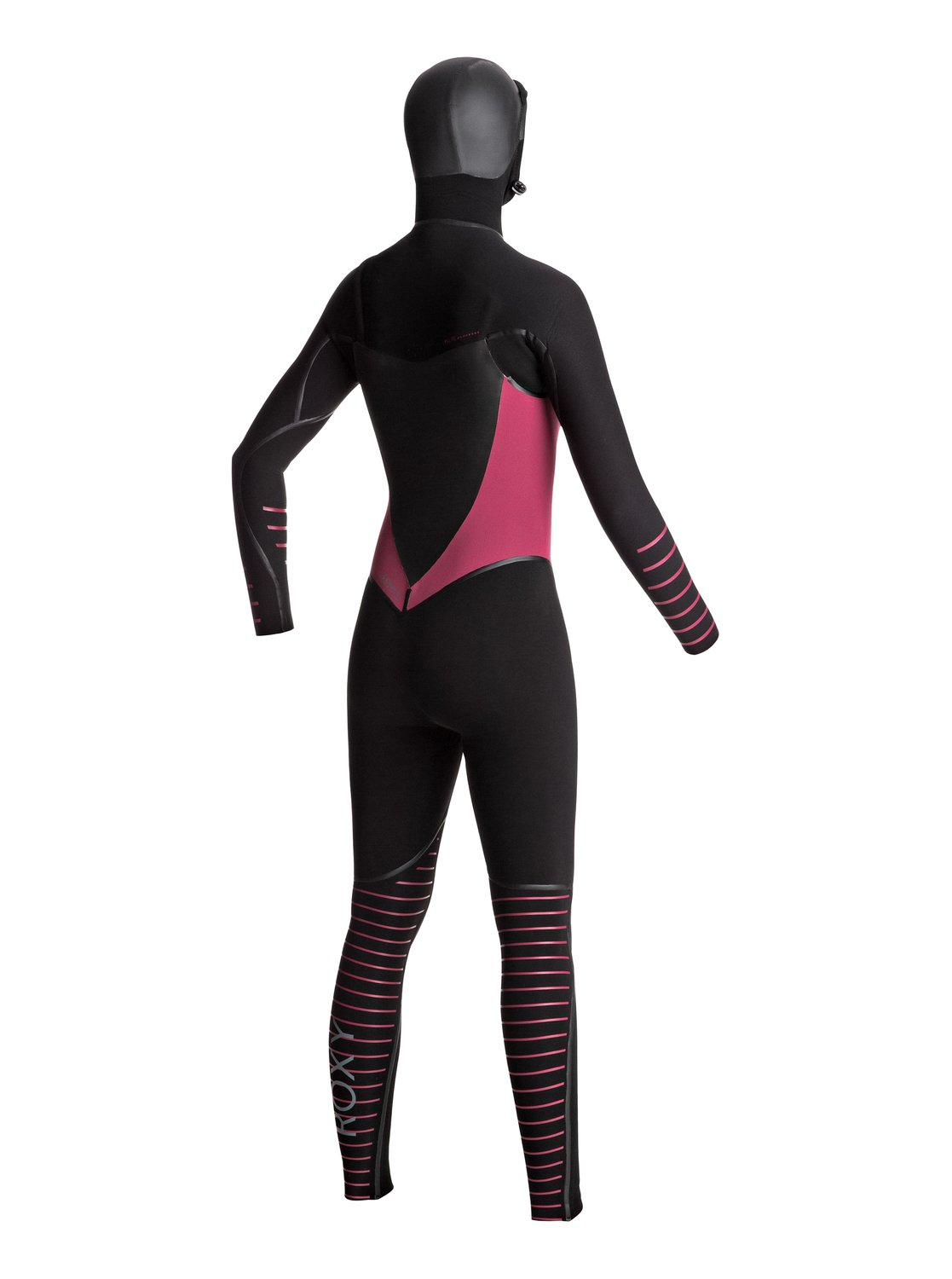 Roxy Syncro Plus 5/4/3mm Hooded Wetsuit - Chest Zip