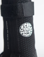 Rip Curl Flash Bomb 5mm Booties - Hidden Split Toe