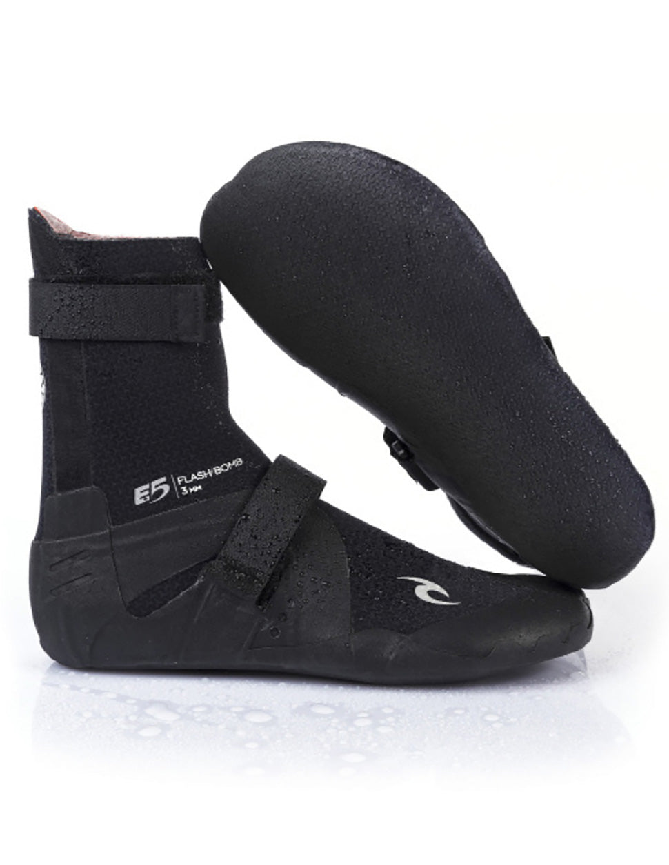 Rip Curl Flash Bomb 7mm Booties - Round Toe