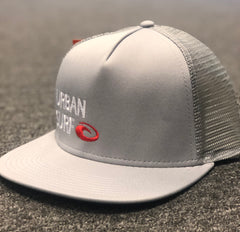 Urban Surf Trucker Hat Grey