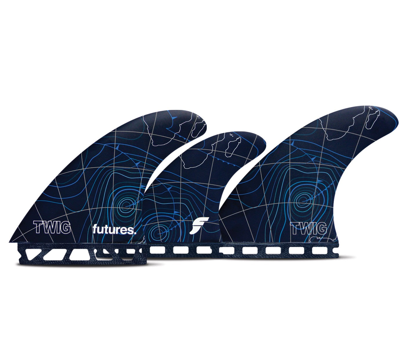 Futures Fins Twiggy 5 fin set