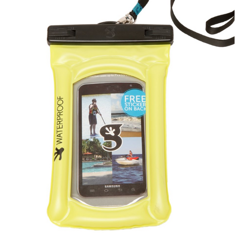 Geckobrands Waterproof Float Phone Dry Bag - choose color