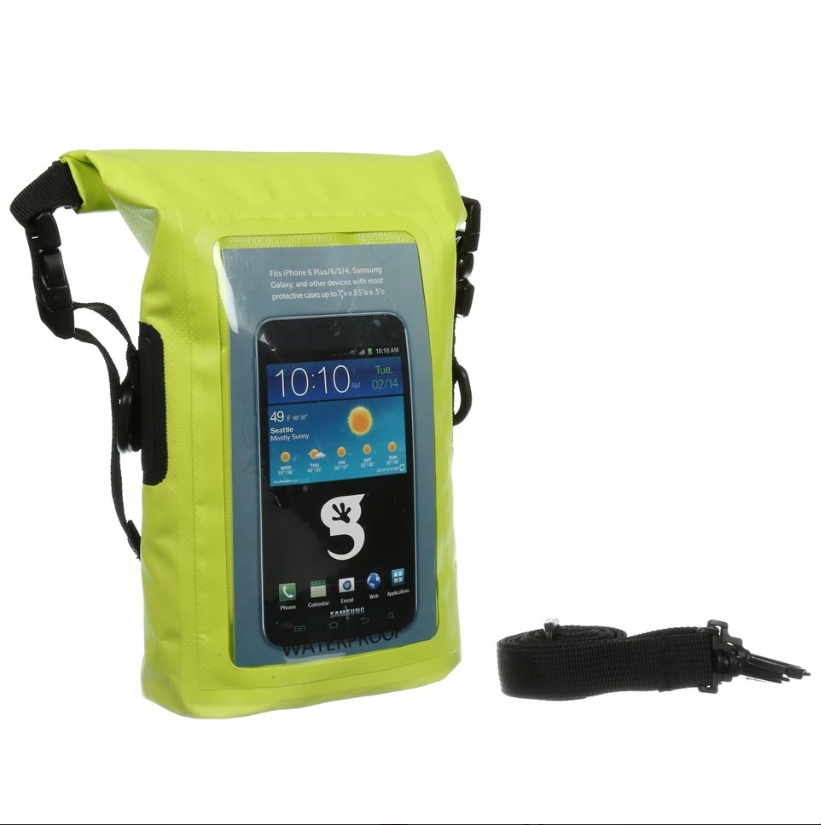 Geckobrands Waterproof Phone Tote - choose color