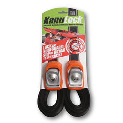 KanuLock Lockable Tie Down Straps - 11'