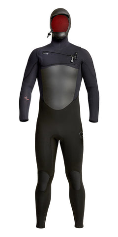 Xcel Infiniti 5/4mm Hooded Wetsuit - Chest Zip