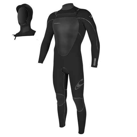 O'Neill Mutant 4/3mm Hooded Wetsuit - Chest Zip