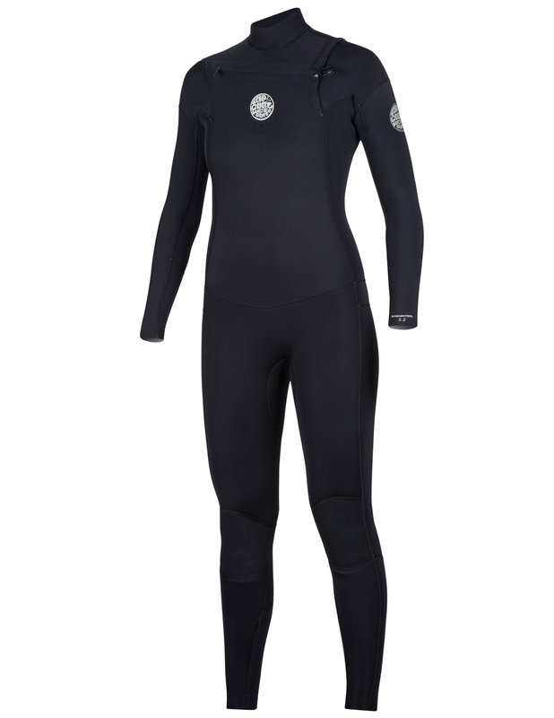 Rip Curl Women's Dawn Patrol 4/3mm Wetsuit - Chest Zip