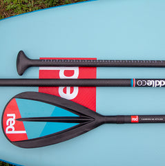 Red Carbon 50 Nylon 3pc Paddle 2019