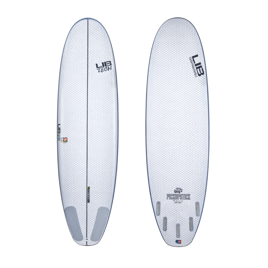 "6'6"" Lib Tech Pickup Stick - Urban Surf"