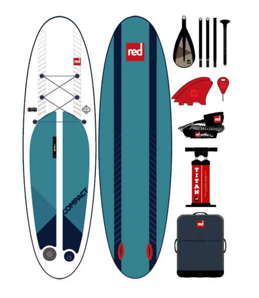 "9'6"" Red Compact MSL iSUP 2019"