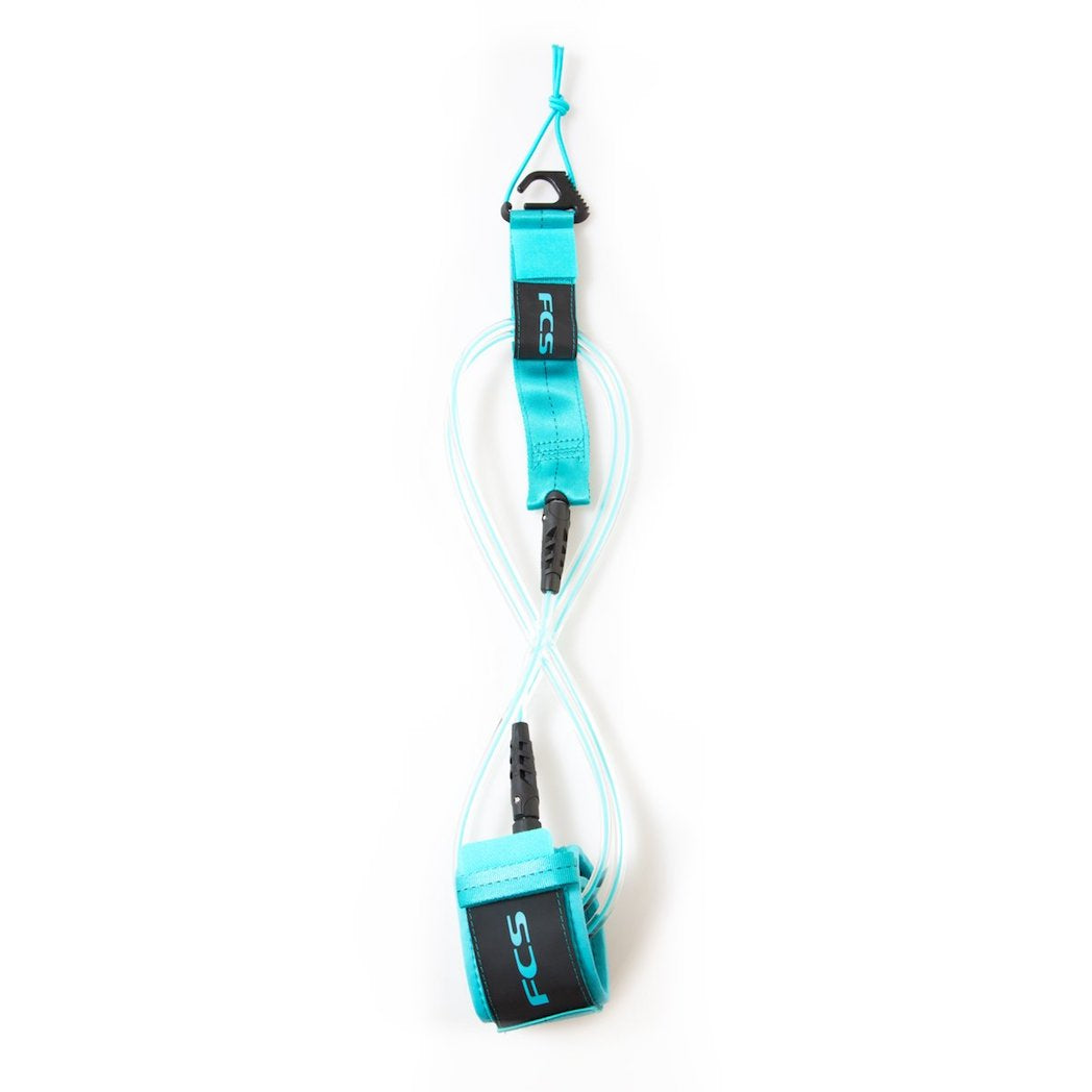 FCS Regular Essential Leash - 6' - Blue