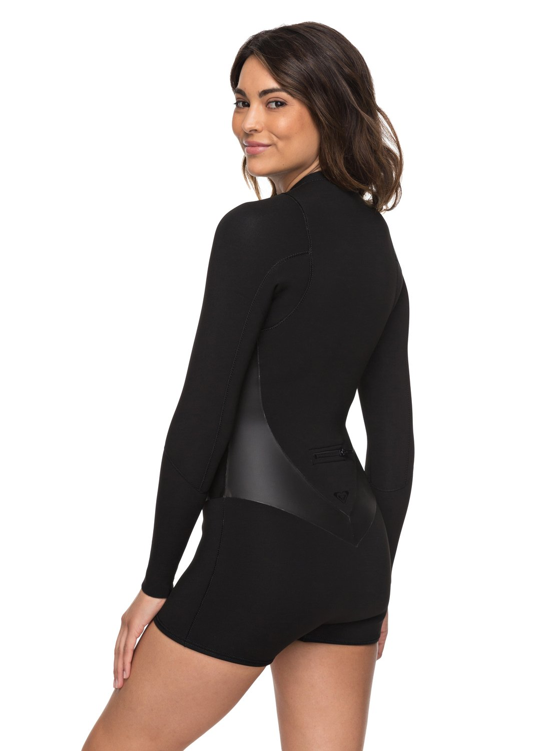 Roxy Satin 2mm Spring Suit - Long Sleeve - Front Zip