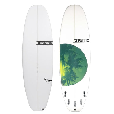 SUPERbrand Slug Remix surfboard - 5'8""